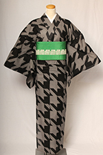 KUNIYOSHI KANKEO 千鳥格子
